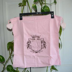 NEW  Juicy couture flannel dust bag